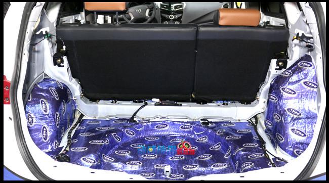 大能全车隔音温州动感地带汽车音响改装 海马S5全车施工大能隔音高清图片